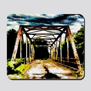 Rusty Old Bridge Mousepad