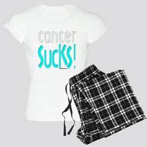 neg10x10cancer_sucks1 Pajamas