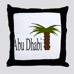 I love Abu Dhabi, amazing city! Throw Pillow