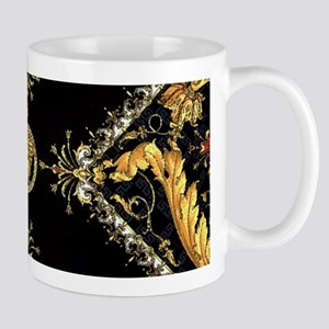 Baroque X Scroll Mugs