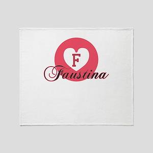 faustina Throw Blanket