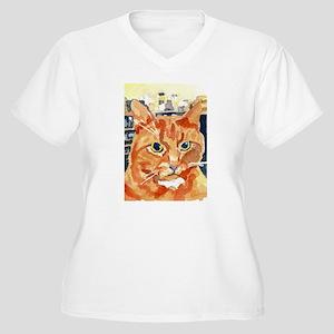 Ginger Tom Cat Plus Size T-Shirt