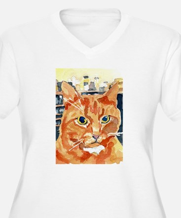 Ginger Tom Cat Plus Size T-Shirt