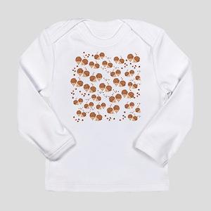 hedgehogs in autumn Long Sleeve T-Shirt