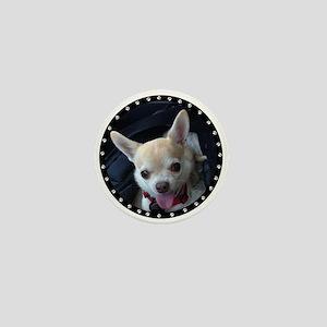 Personalized Paw Print Mini Button