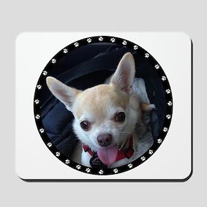 Personalized Paw Print Mousepad