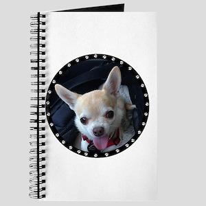 Personalized Paw Print Journal