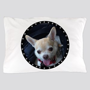 Personalized Paw Print Pillow Case