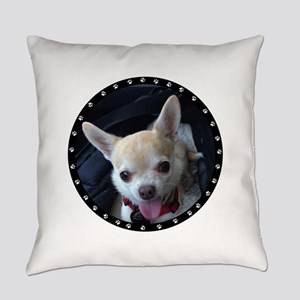 Personalized Paw Print Everyday Pillow
