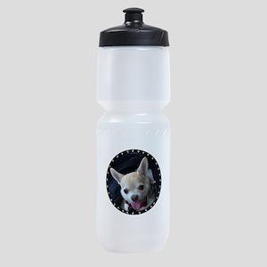 Personalized Paw Print Sports Bottle