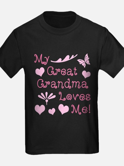 GreatGrandma Loves Me T-Shirt