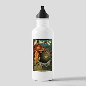 Milwaukee Feeds World Stainless Water Bottle 1.0L