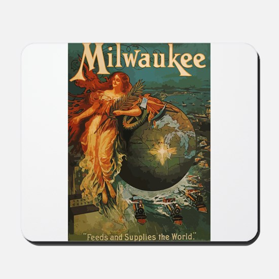 Milwaukee Feeds World Mousepad