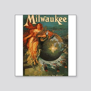 Milwaukee Feeds World Sticker