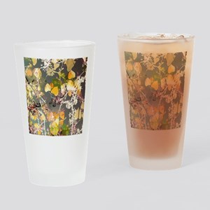 Autumn Leaves. Drinking Glass