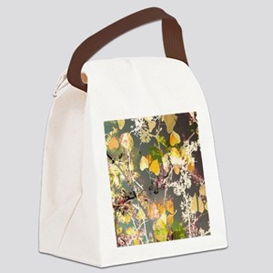 Autumn Leaves. Canvas Lunch Bag