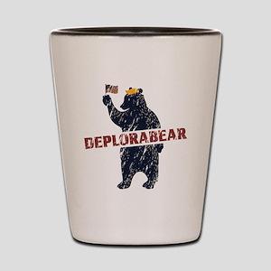 Deplorabear Trump Shot Glass