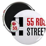 55 Rose Street Logo Magnets