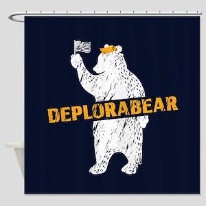 Deplorabear Trump Shower Curtain