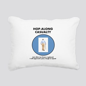 Hopalong Casualty till Rectangular Canvas Pillow