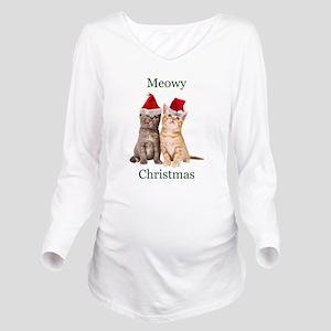 Meowy Christmas Kitten Shirt T-Shirt
