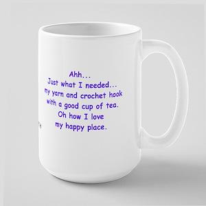 Crochet And Tea In Purple Bigger Mugs