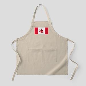 Cannabis Canadian Flag Apron
