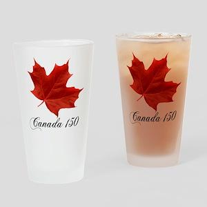 Canada 150 Drinking Glass
