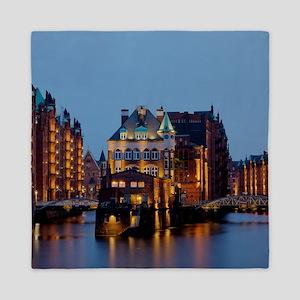 Wasserschloss Speicherstadt Hamburg De Queen Duvet