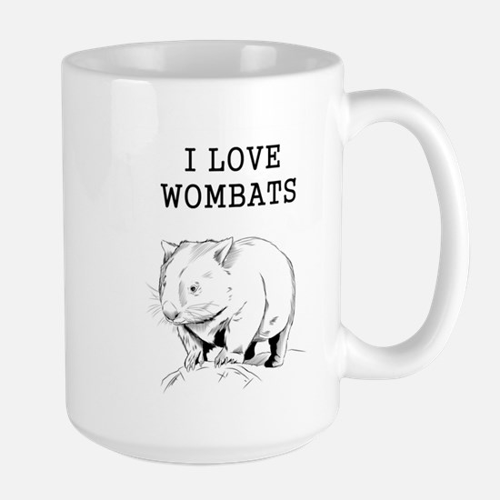 I Love Wombats Mugs