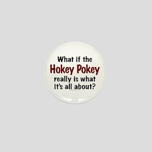 Hokey Pokey Mini Button