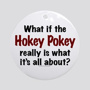 Hokey Pokey Ornament (Round)