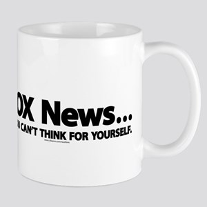 Anti FOX News Mug