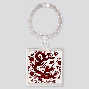Chinese Red Dragon Keychains
