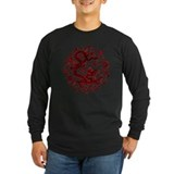 Chinese dragon Long Sleeve Dark T-Shirts