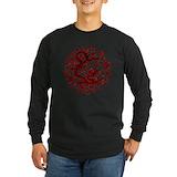 Chinese dragon Long Sleeve Dark T-Shirts