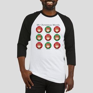 Christmas Moods Baseball Jersey