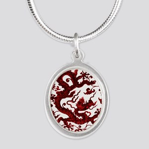 Chinese Red Dragon Necklaces