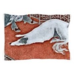 Art Deco Borzoi Pillow Case