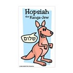 Hopsiah the Kanga-Jew Sticker