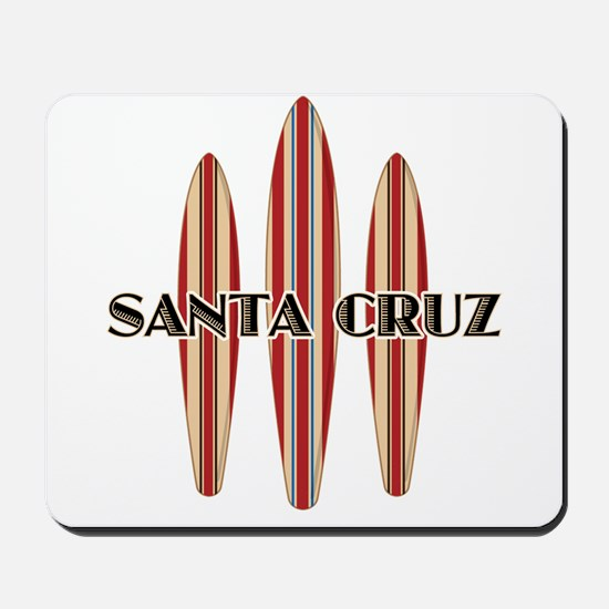 Santa Cruz Surf Boards Mousepad