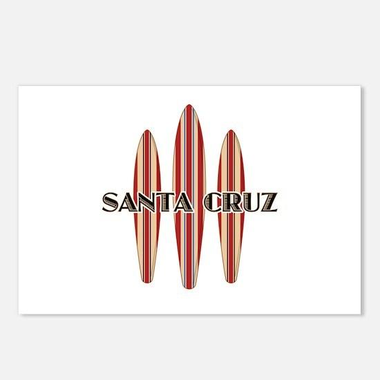 Santa Cruz Surf Boards Postcards (Package of 8)