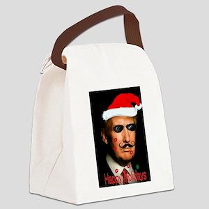 Santa Trump Canvas Lunch Bag