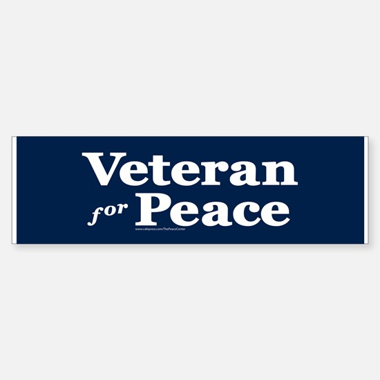 Veteran For Peace (bumper) Bumper Bumper Bumper Sticker