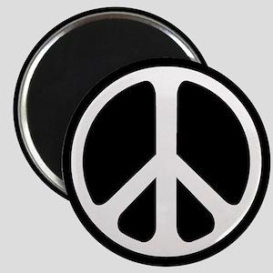 Classic Peace Symbol Magnet