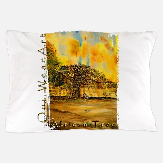 African Tree Pillow Case