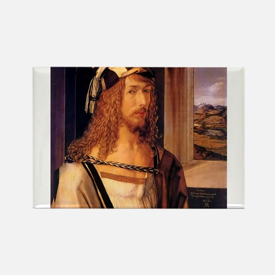 Albrecht Durer Self Portrait Magnets