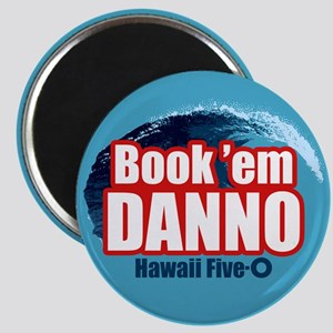 H5O Book Em Danno Magnets
