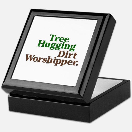 Tree-Hugging Dirt Worshipper Keepsake Box