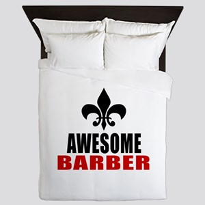 Awesome Barber Queen Duvet
